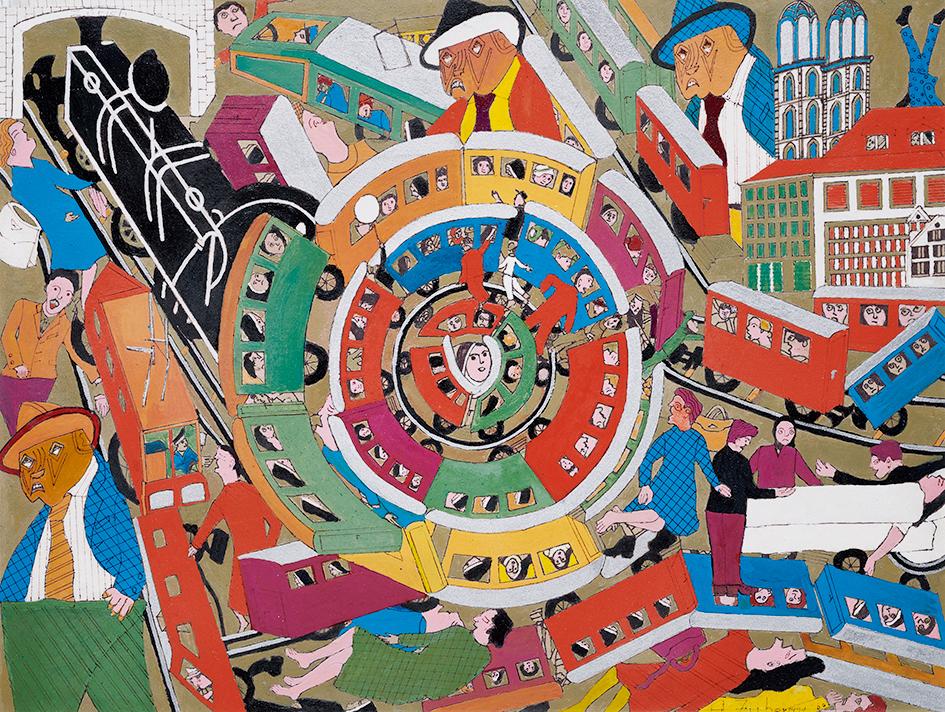 Zuber Hedi, Das Rad der Zeit (The Wheel of Time)