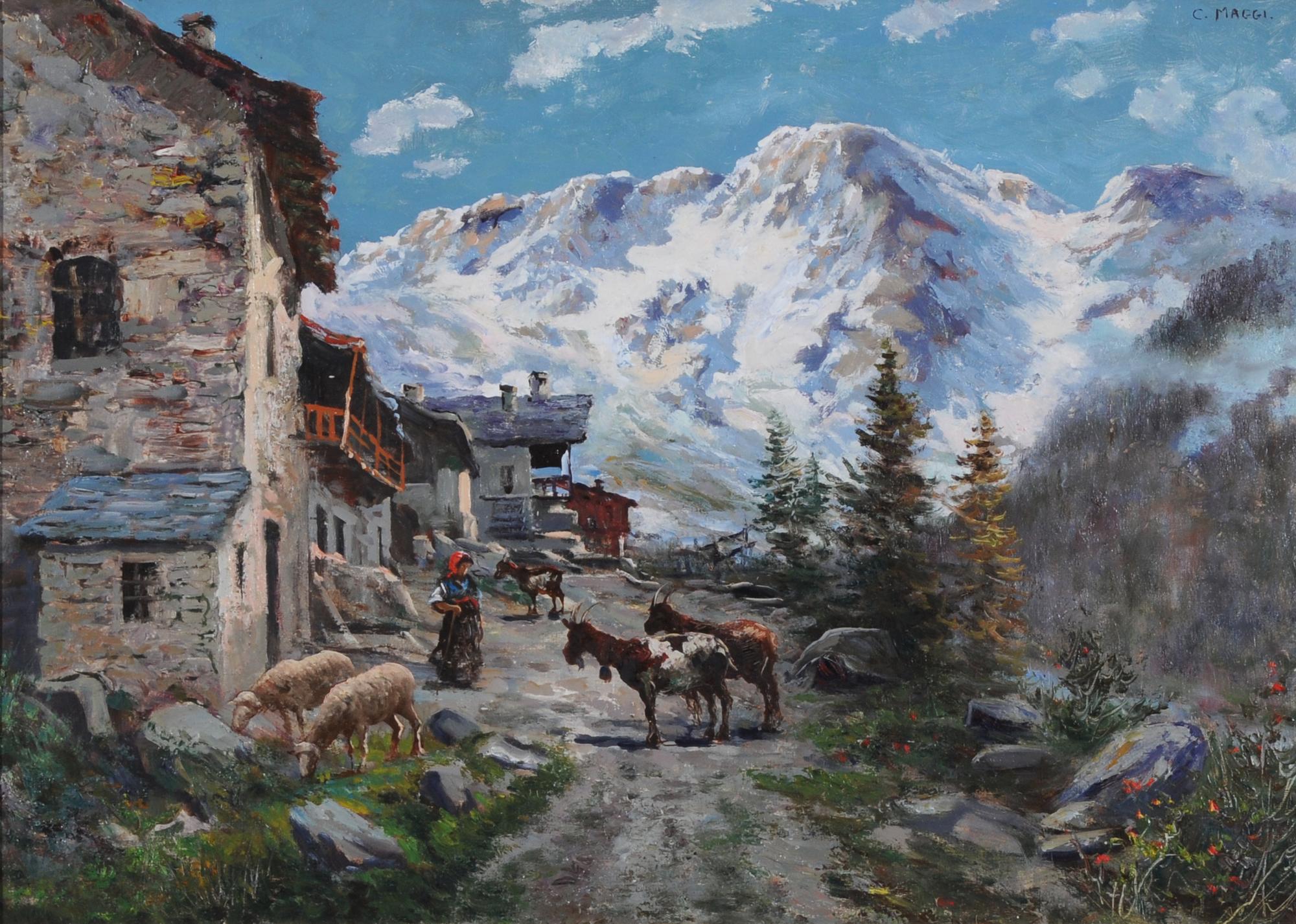 Maggi Cesare, Aostatal