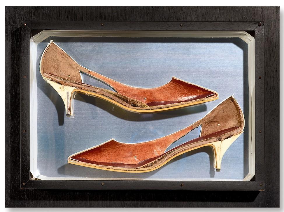 Fernandez Arman, Chaussure decoupée