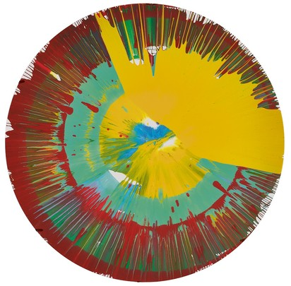 Circle Spin Painting