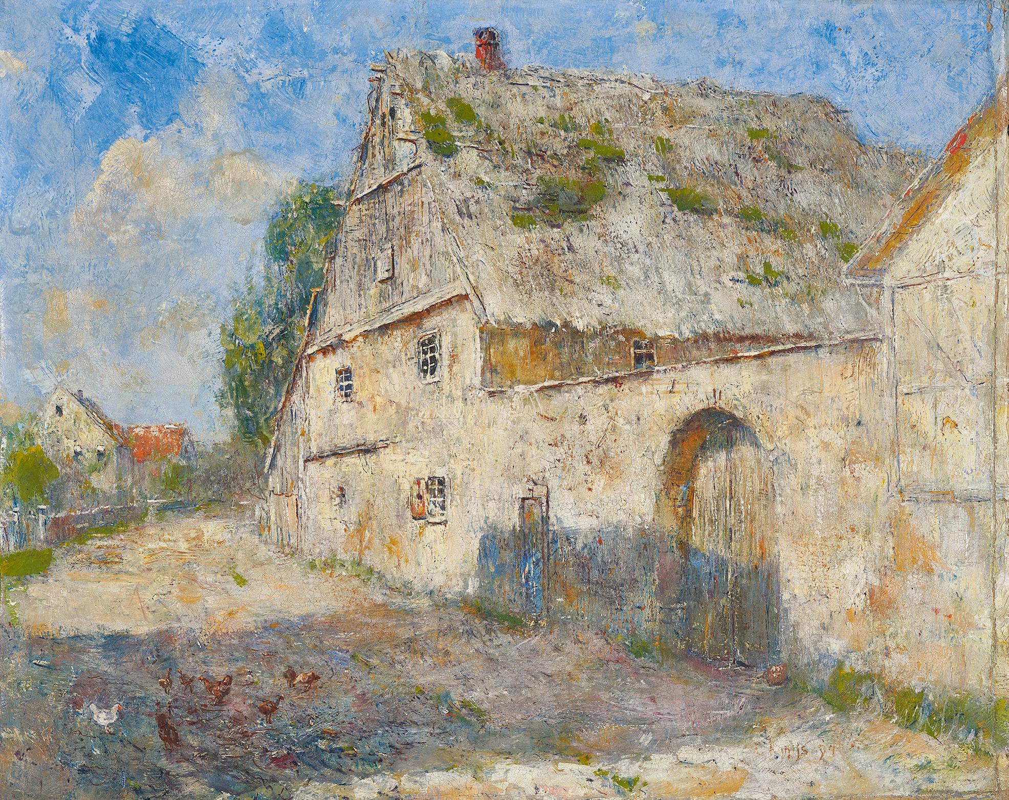 Rohlfs Christian, Bauernhof (Farmhouse)