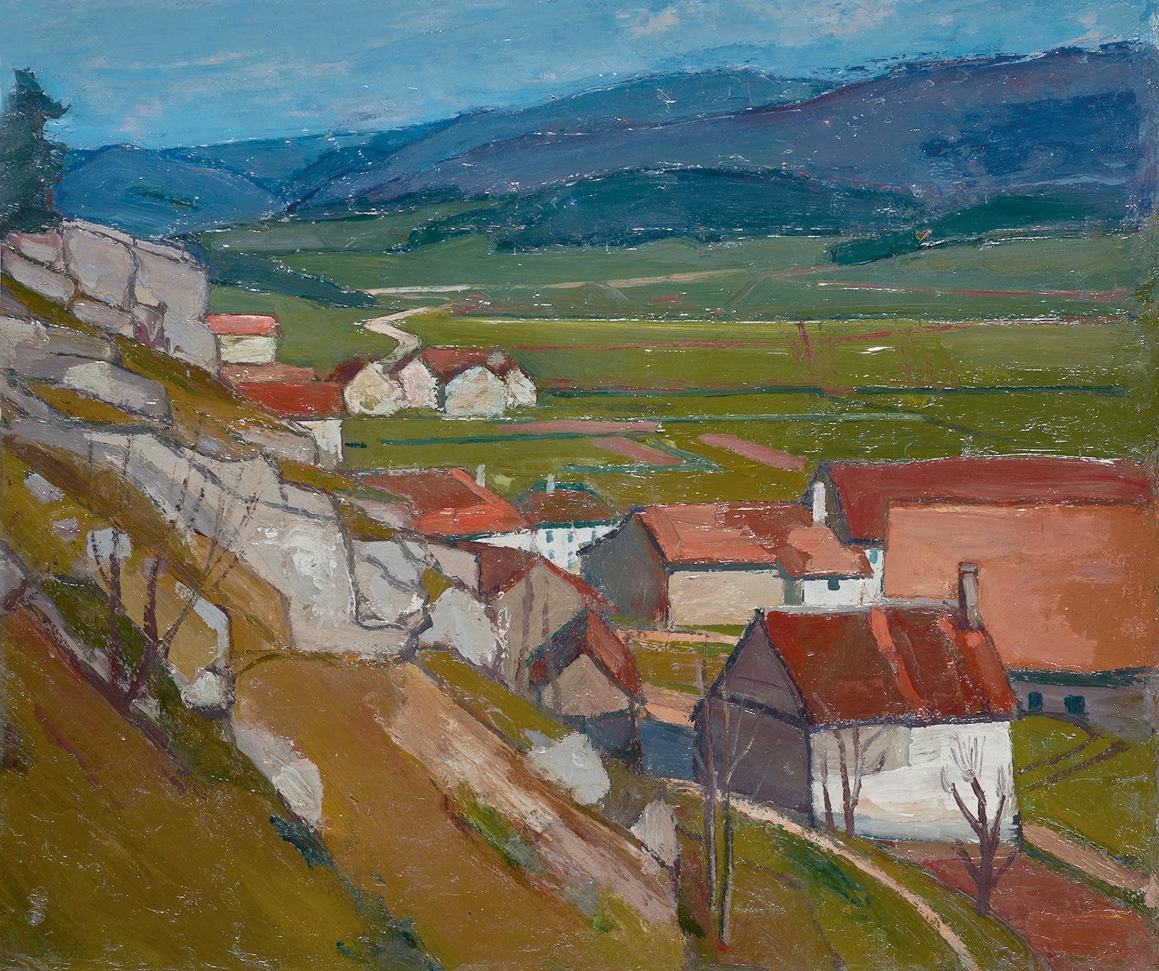 Schnyder Albert, Le Val de Terbi (Vicques)