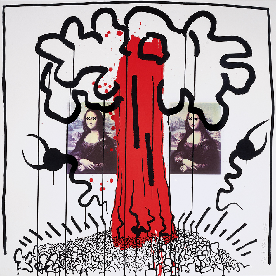 """Haring Keith, Untitled No. 1, from """"Apocalypse"""""""