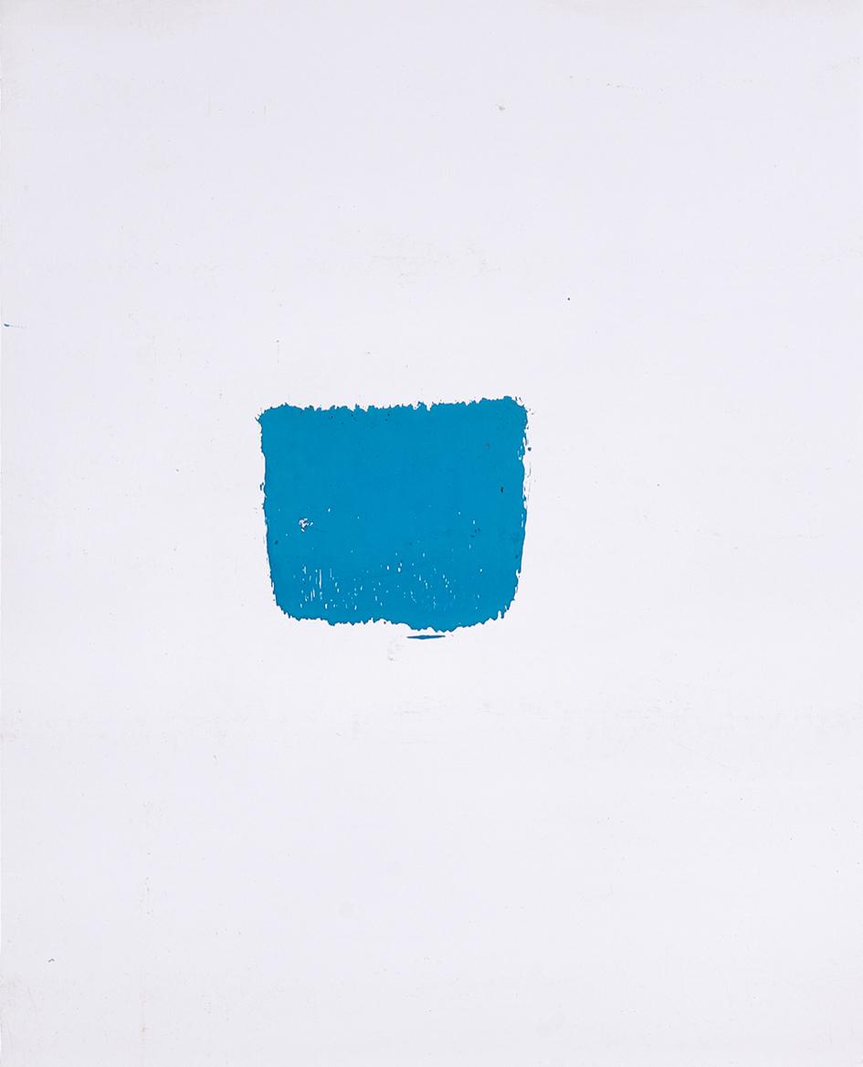 Toroni Niele, 3 works: Empreintes de pinceau no. 50