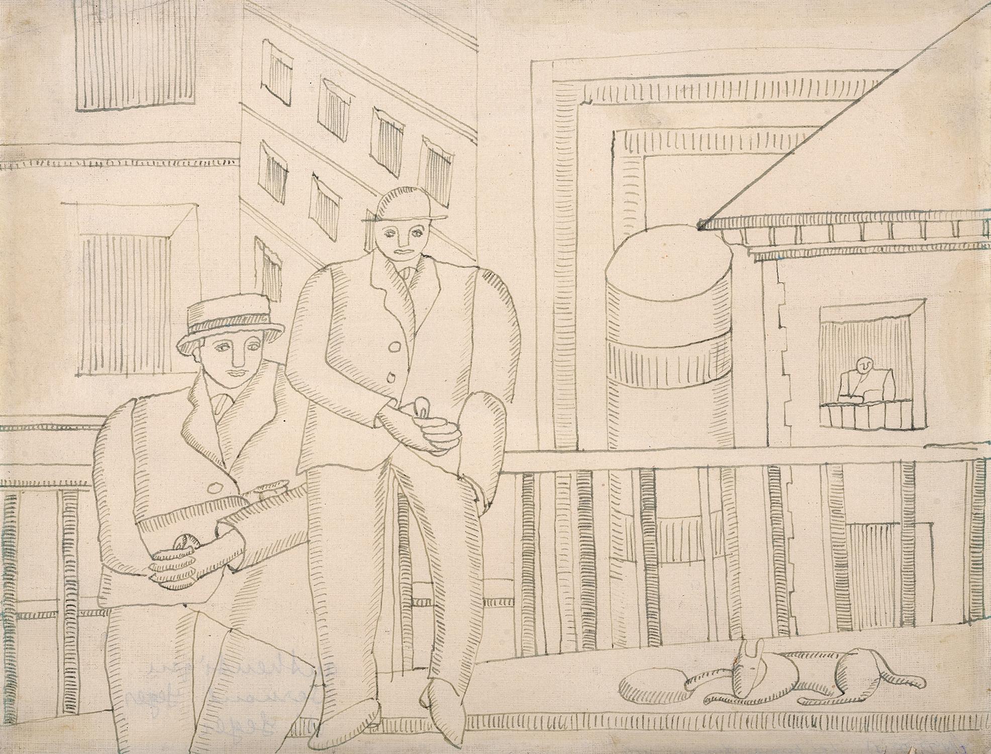 Léger Fernand, Deux hommes dans la ville
