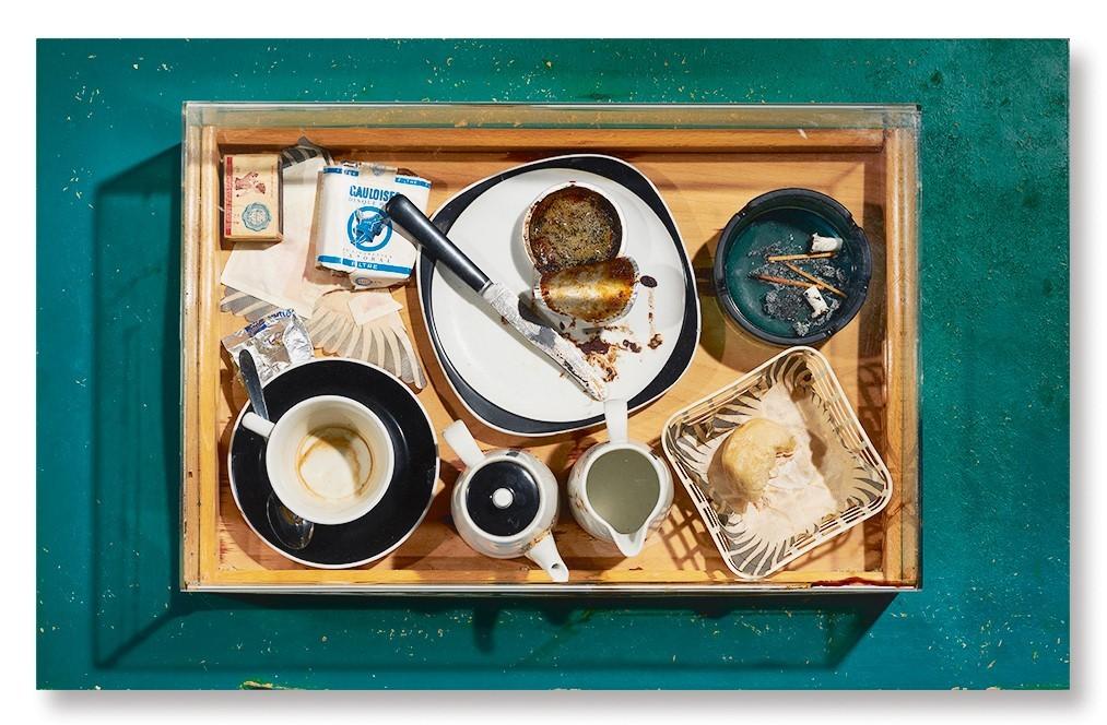 Spoerri Daniel, Variations d'un petit déjeuner