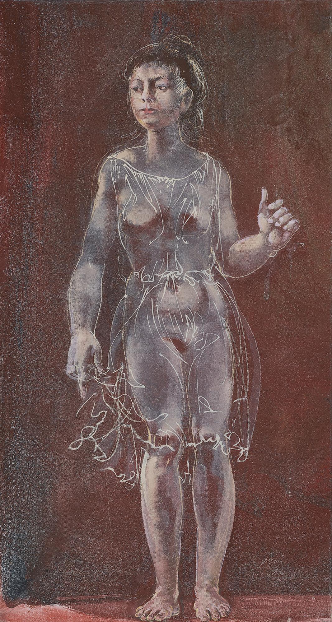Hans Erni, Stehendes Mädchen