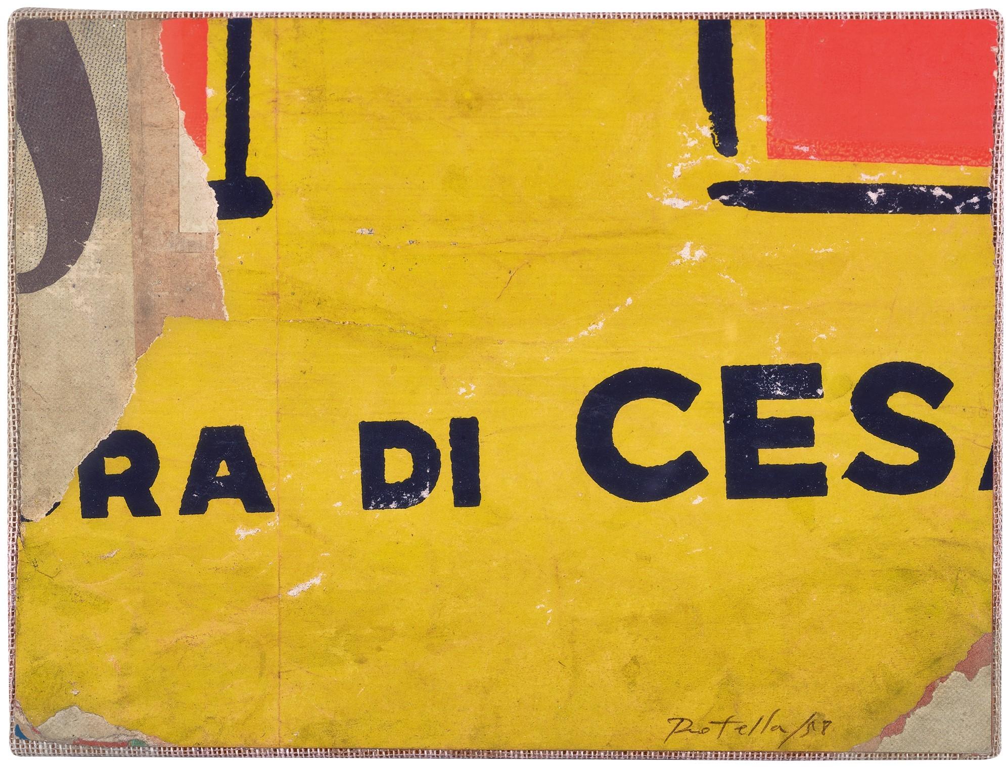 Rotella Mimmo, Senza titolo (Untitled)