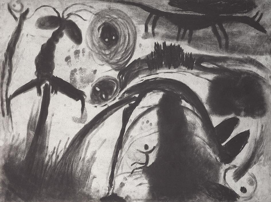 Miriam Cahn, Triptych. Untitled
