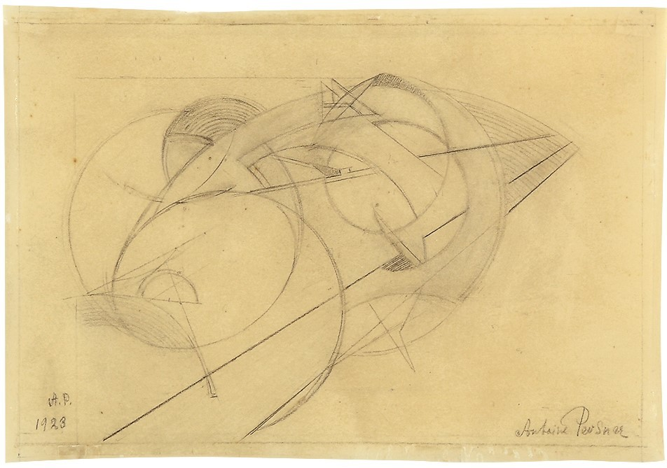 Antoine Pevsner, Composition