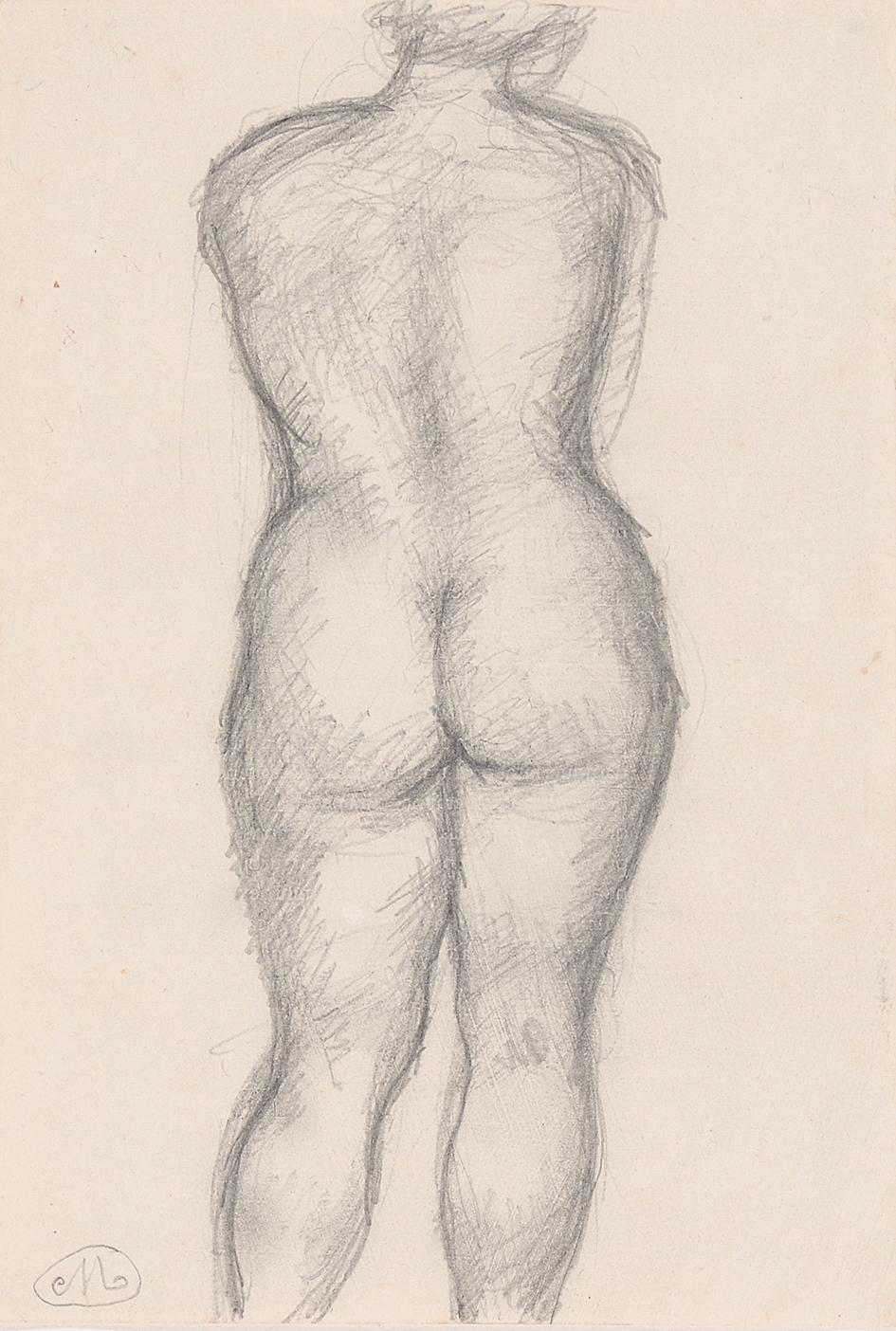 Maillol Aristide, Femme debout de dos