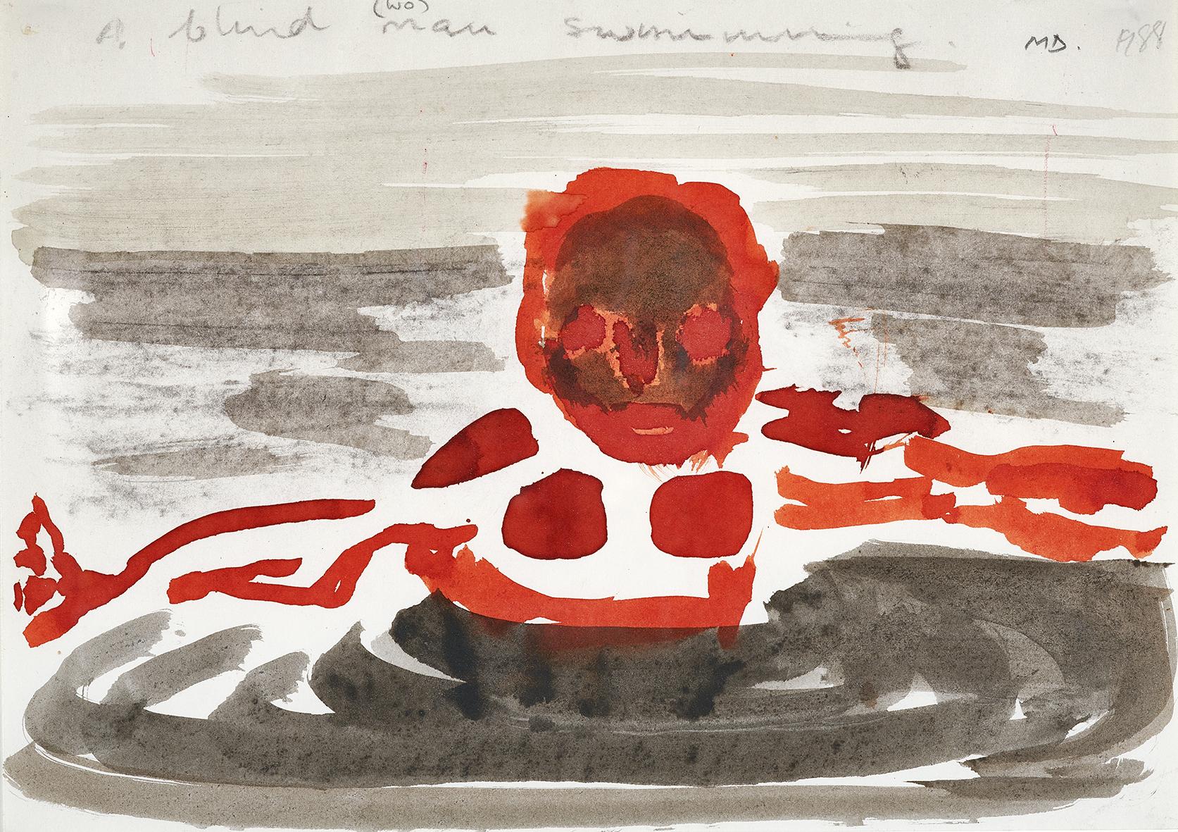 Dumas Marlene, A Blind Man Swimming