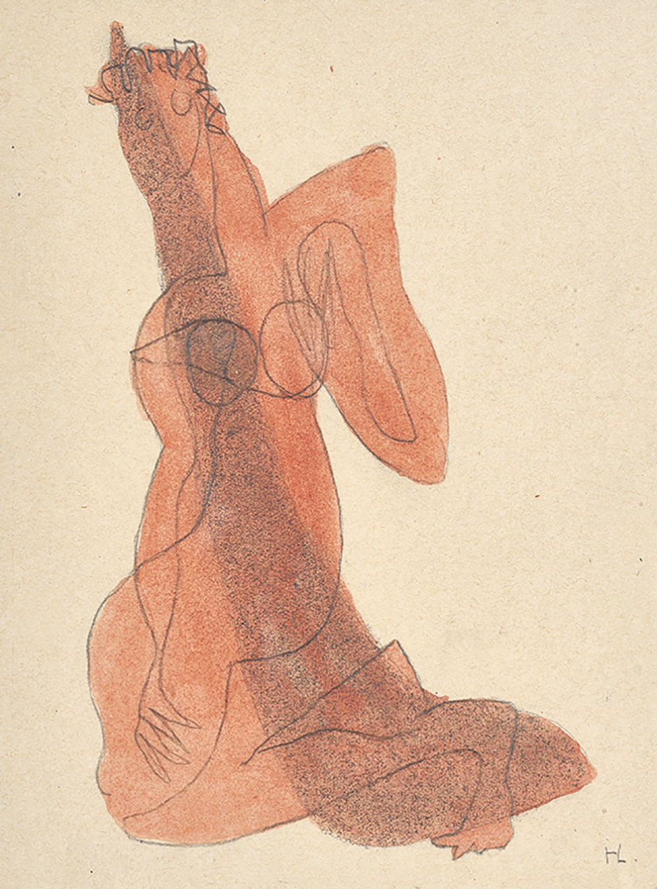 Laurens Henri, Femme agenouillée