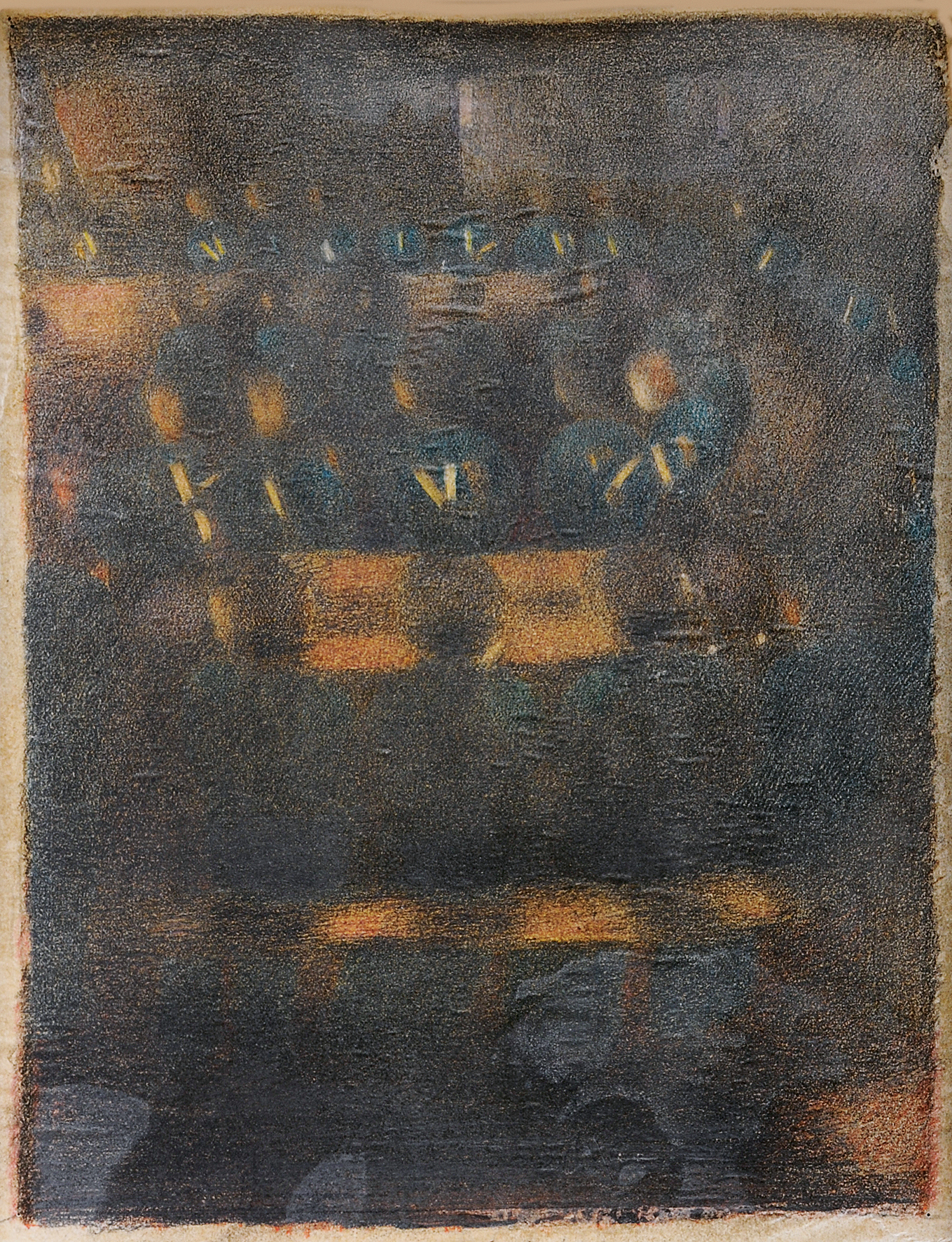 """Meyer-Amden Otto, Study for """"Vorbereitung"""""""