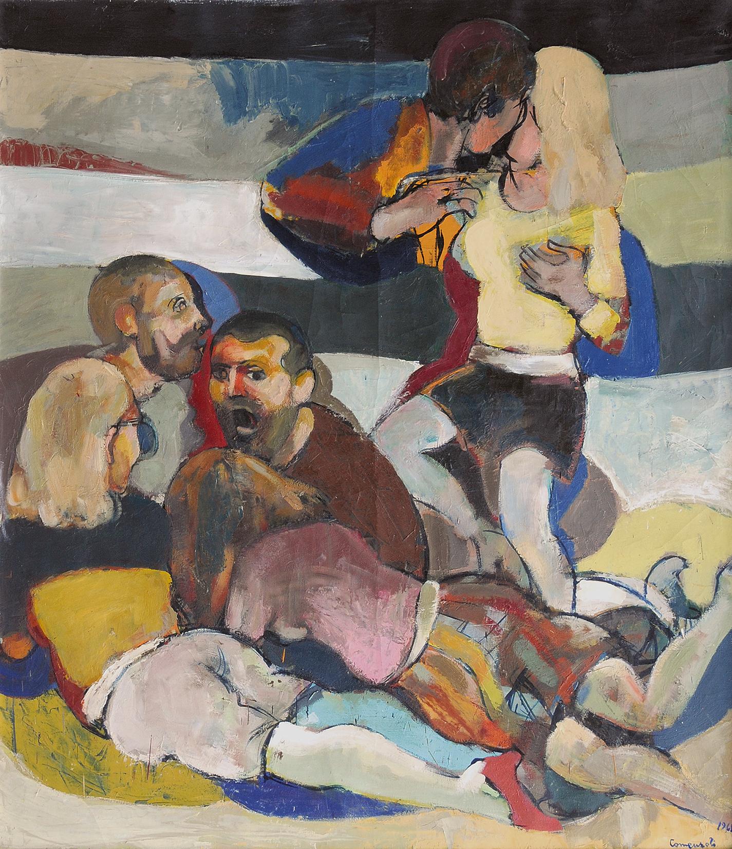 Mario Comensoli, Triptychon Teil III