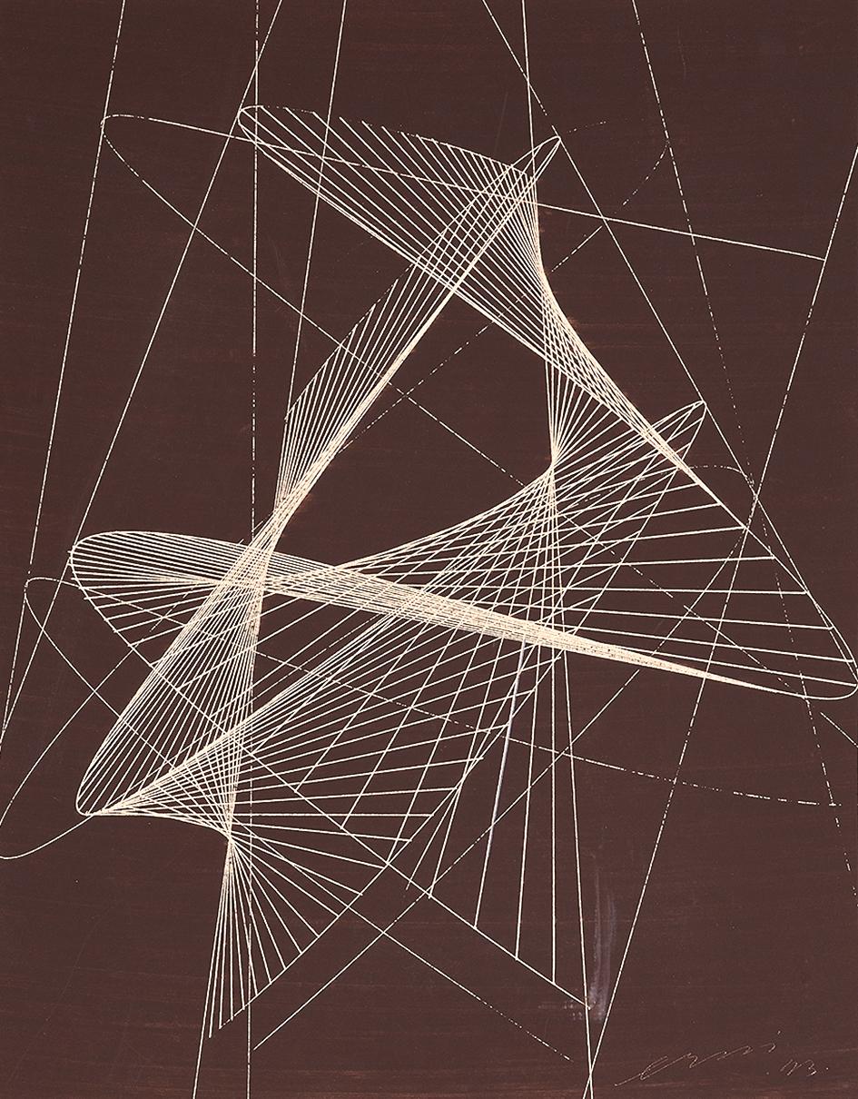 Erni Hans, Abstraction