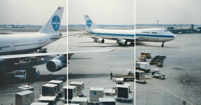 Folder. Triptych - Airport, 1987
