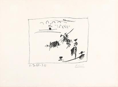 """La Pique, from """"A los toros avec Picasso"""""""