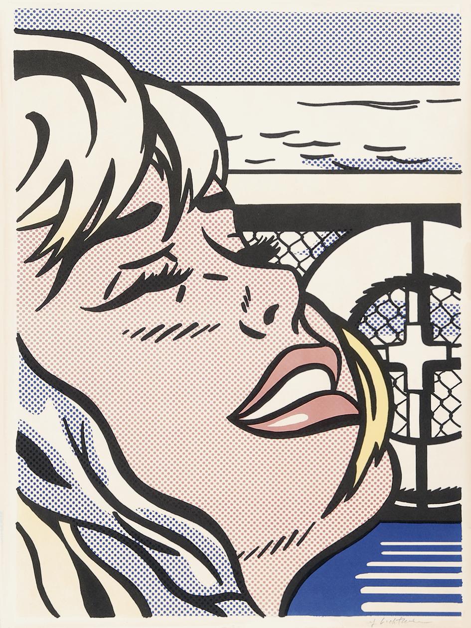 Lichtenstein Roy, Shipboard Girl