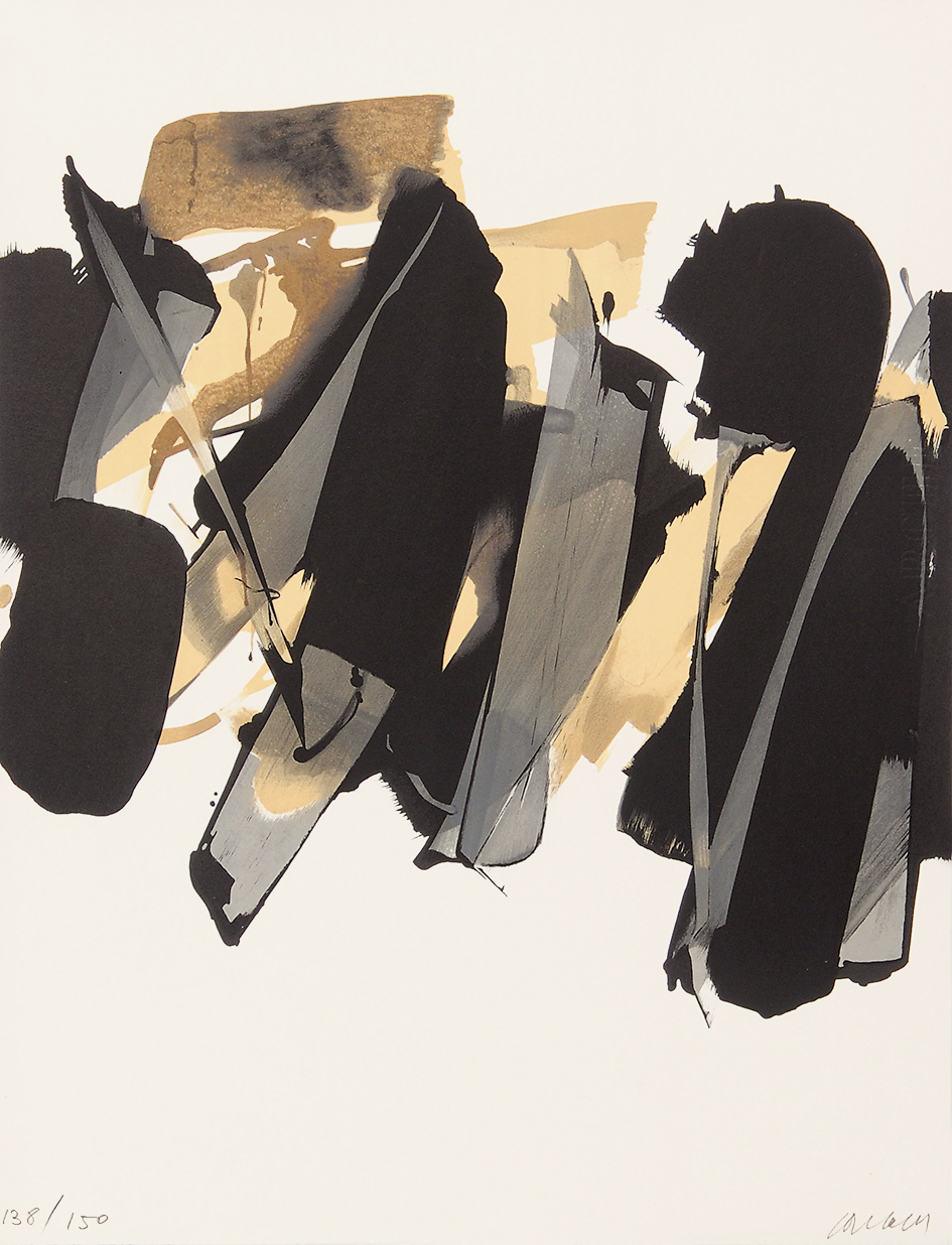 Soulages Pierre, Lithographie n° 14