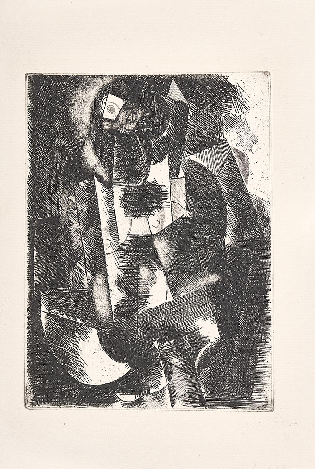"""Picasso Pablo, Femme nue, from """"Le siège de Jerusalem"""""""