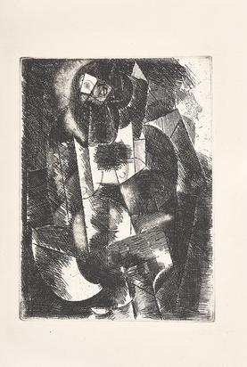 "Femme nue, from ""Le siège de Jerusalem"""