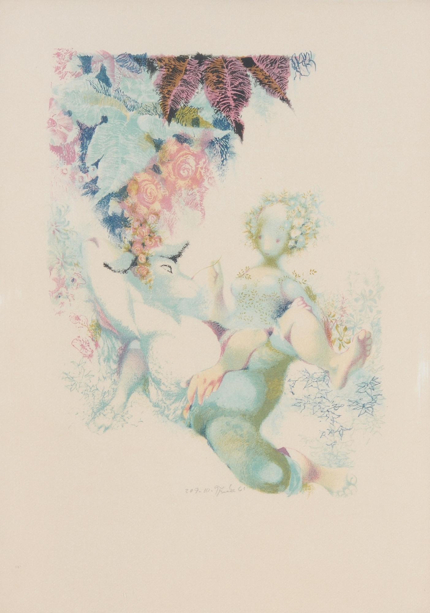 """Trnka Jiri, Sheet III, from """"A Midsummer Night's Dream"""""""