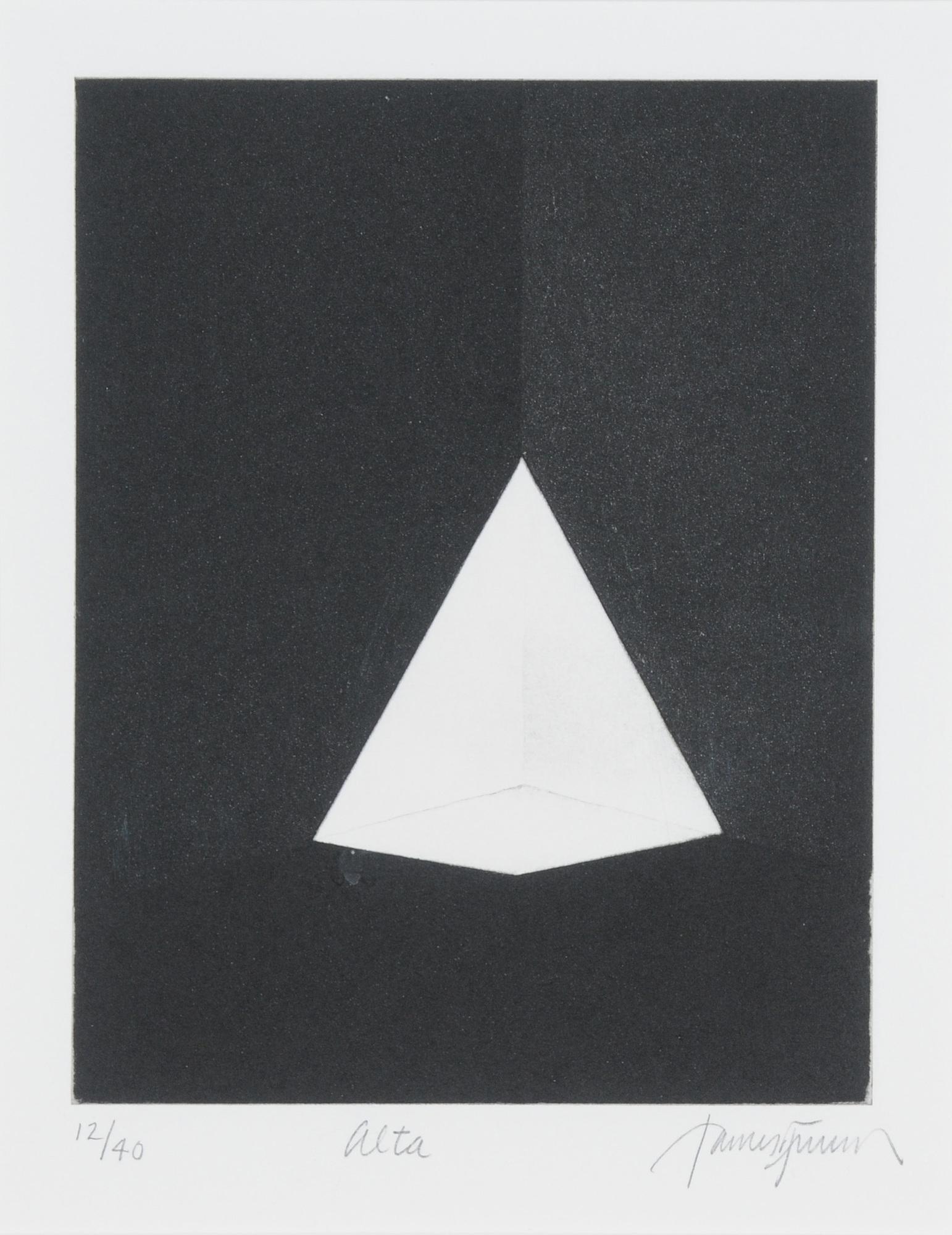 Turrell James, 2 sheets: Squat; Alta