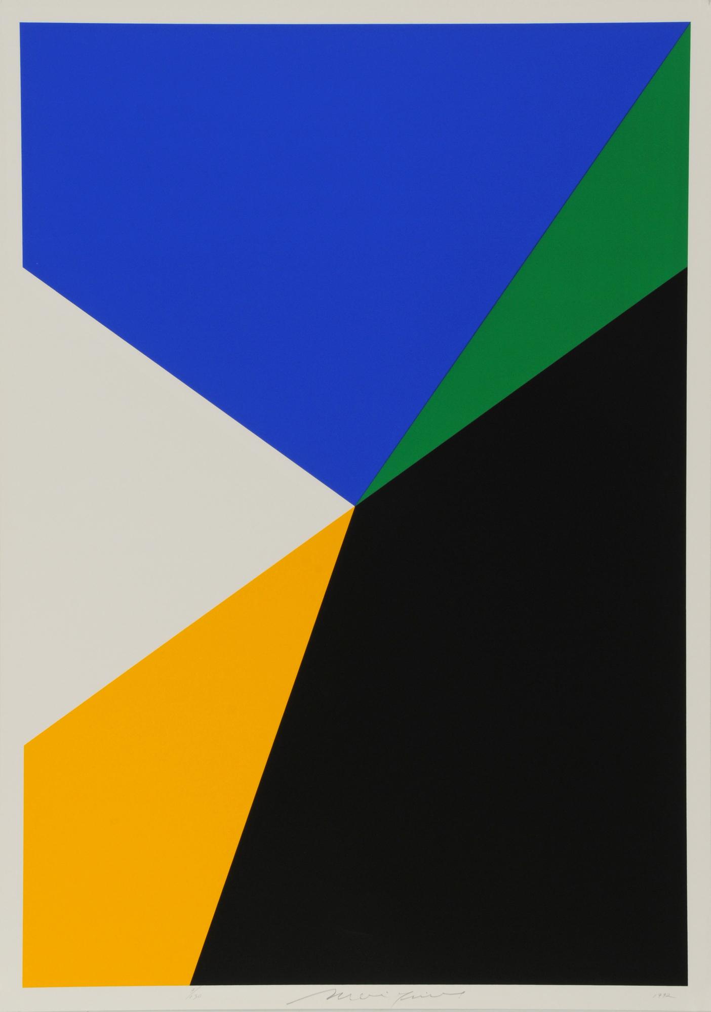 Mavignier Almir da Silva, Series of 5 sheets: Untitled