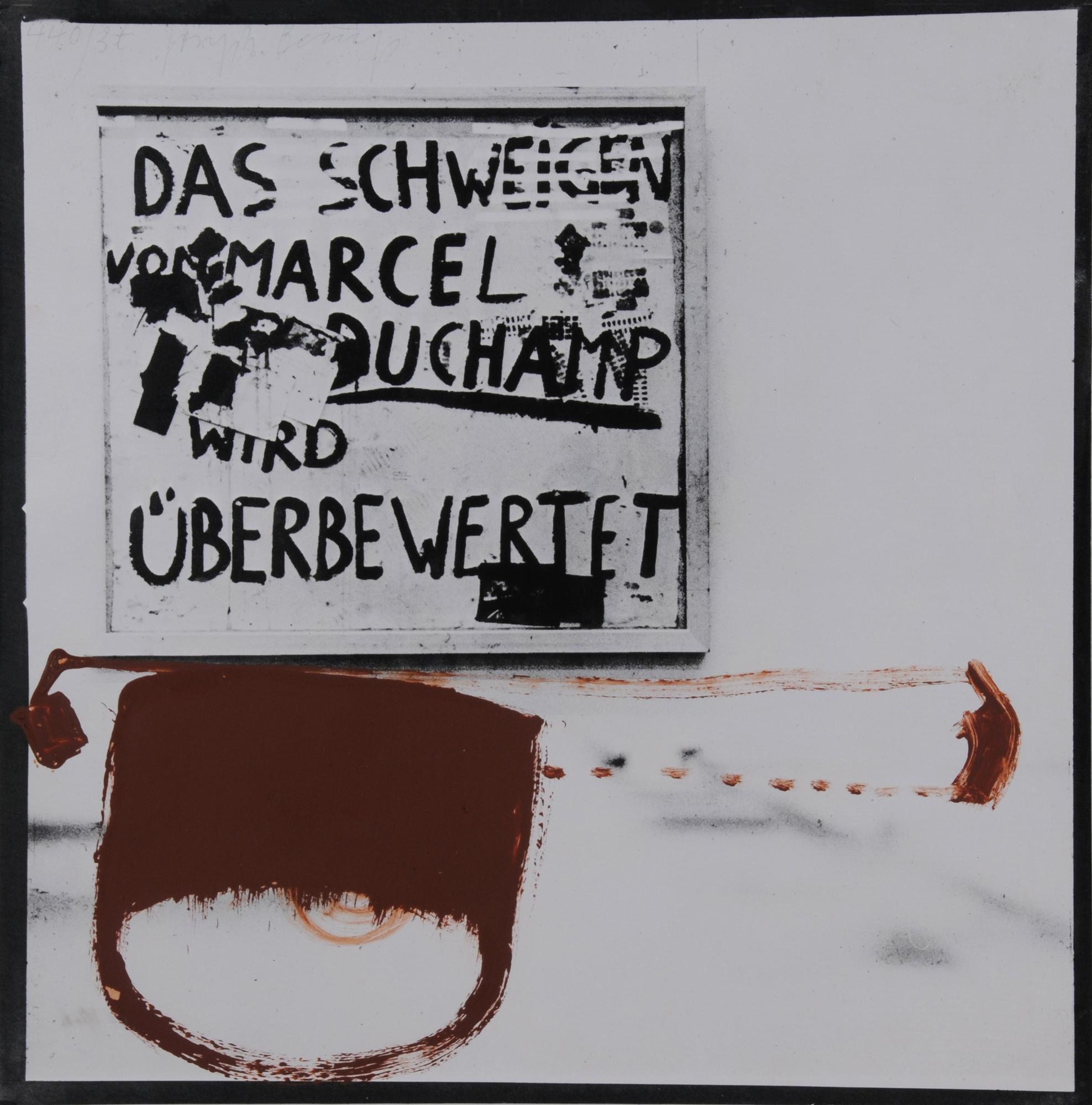 "Joseph Beuys, Sheet from ""3-Tonnen-Edition"""