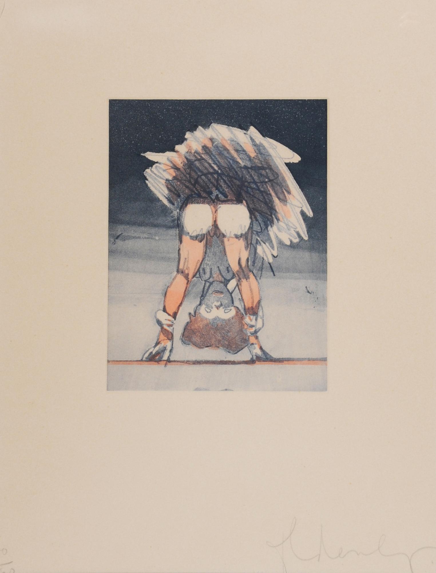 Oldenburg Claes, Figure Looking through Legs