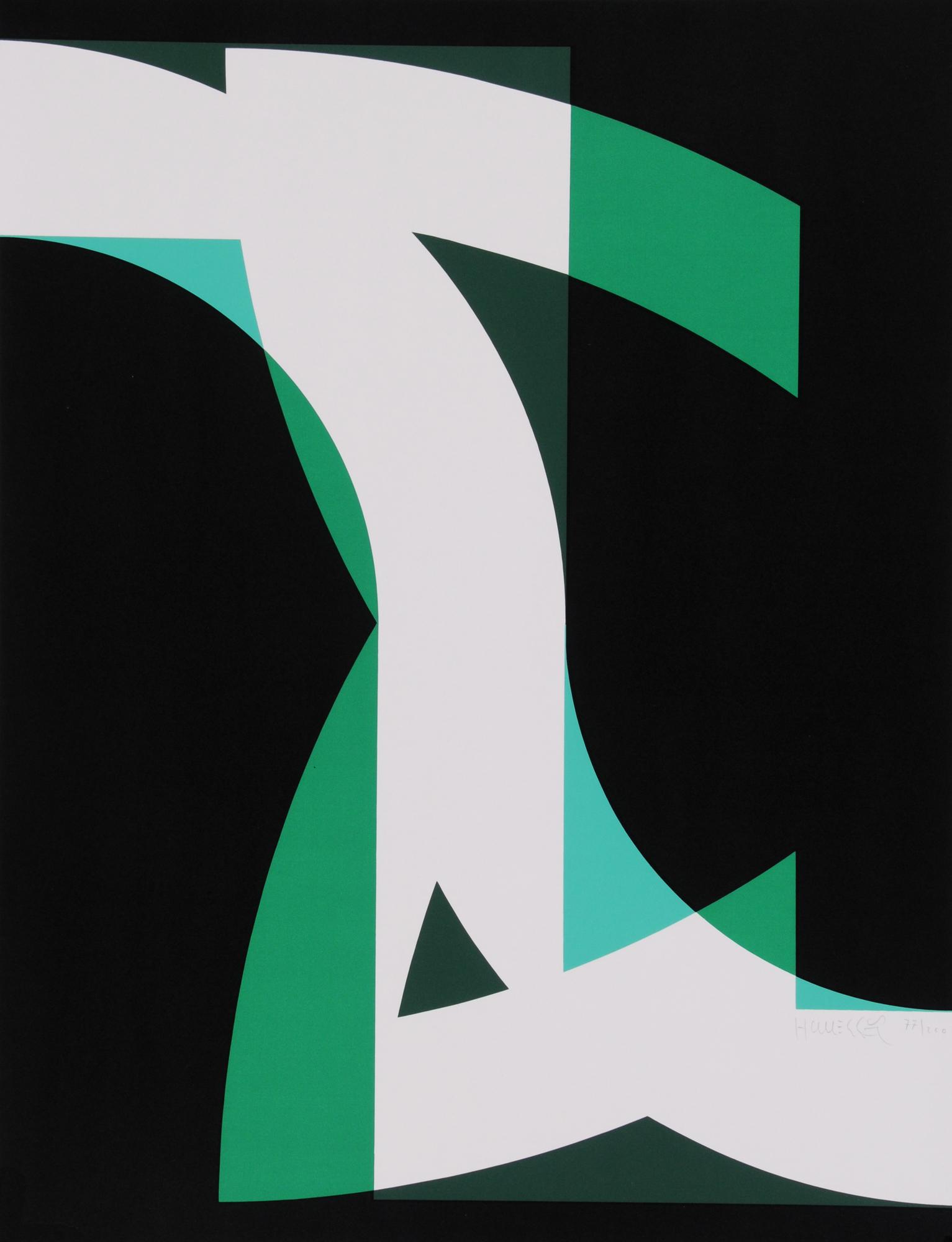 """Grafik, 15 sheets from """"Graphikmappe des Schweizerischen Kunstvereins"""", 1975"""