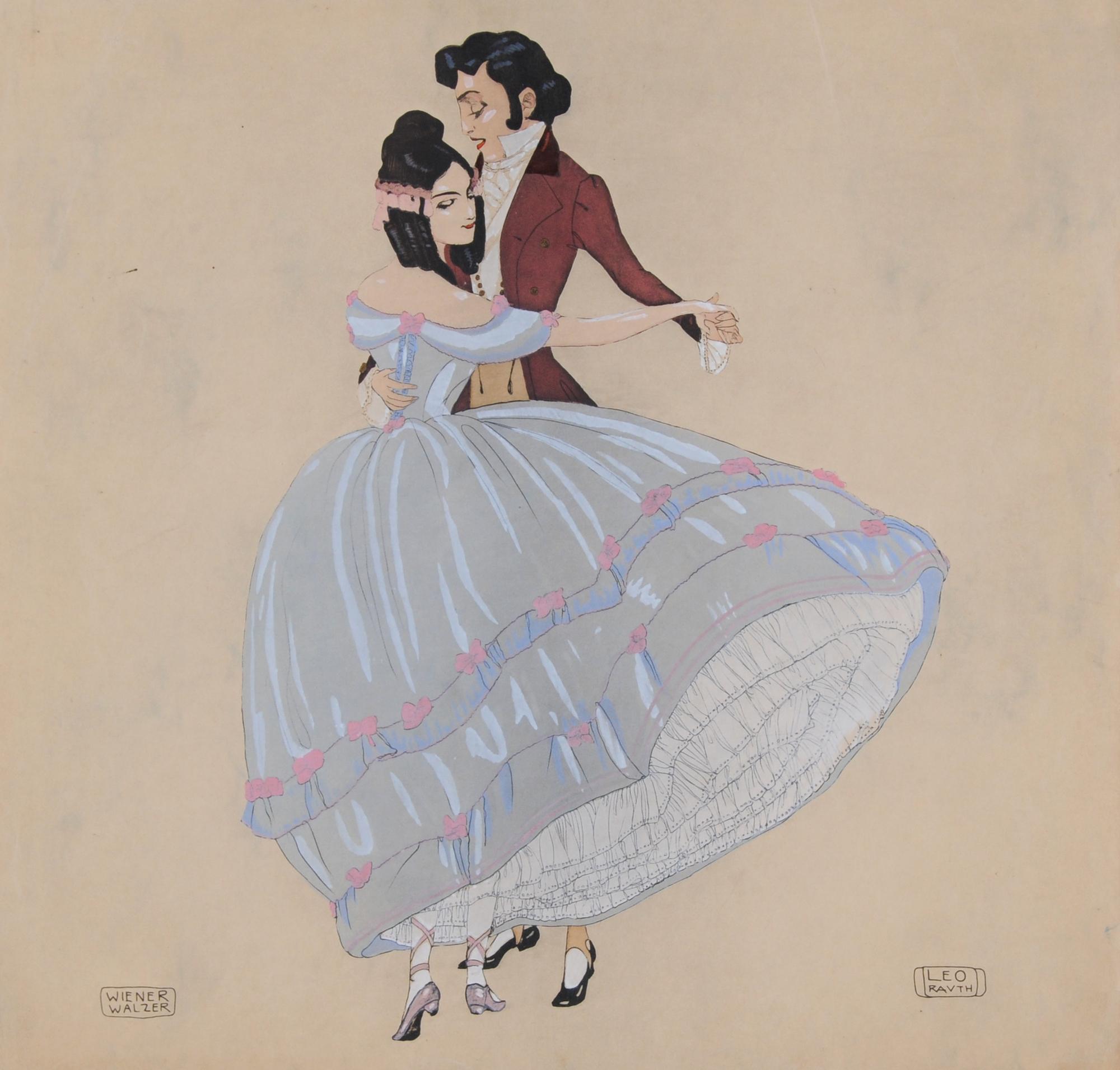 Rauth Leo, 4 sheets: Cake-Walk; Scherzo; Wiener Walzer; Fascination Valse