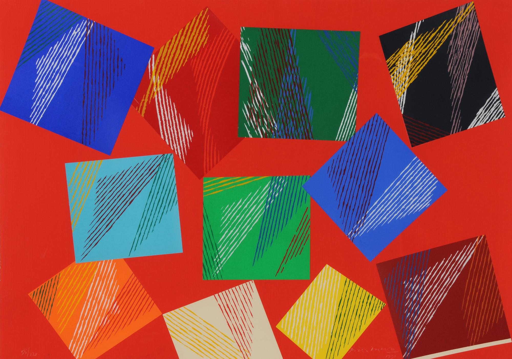 Dorazio Piero, Untitled