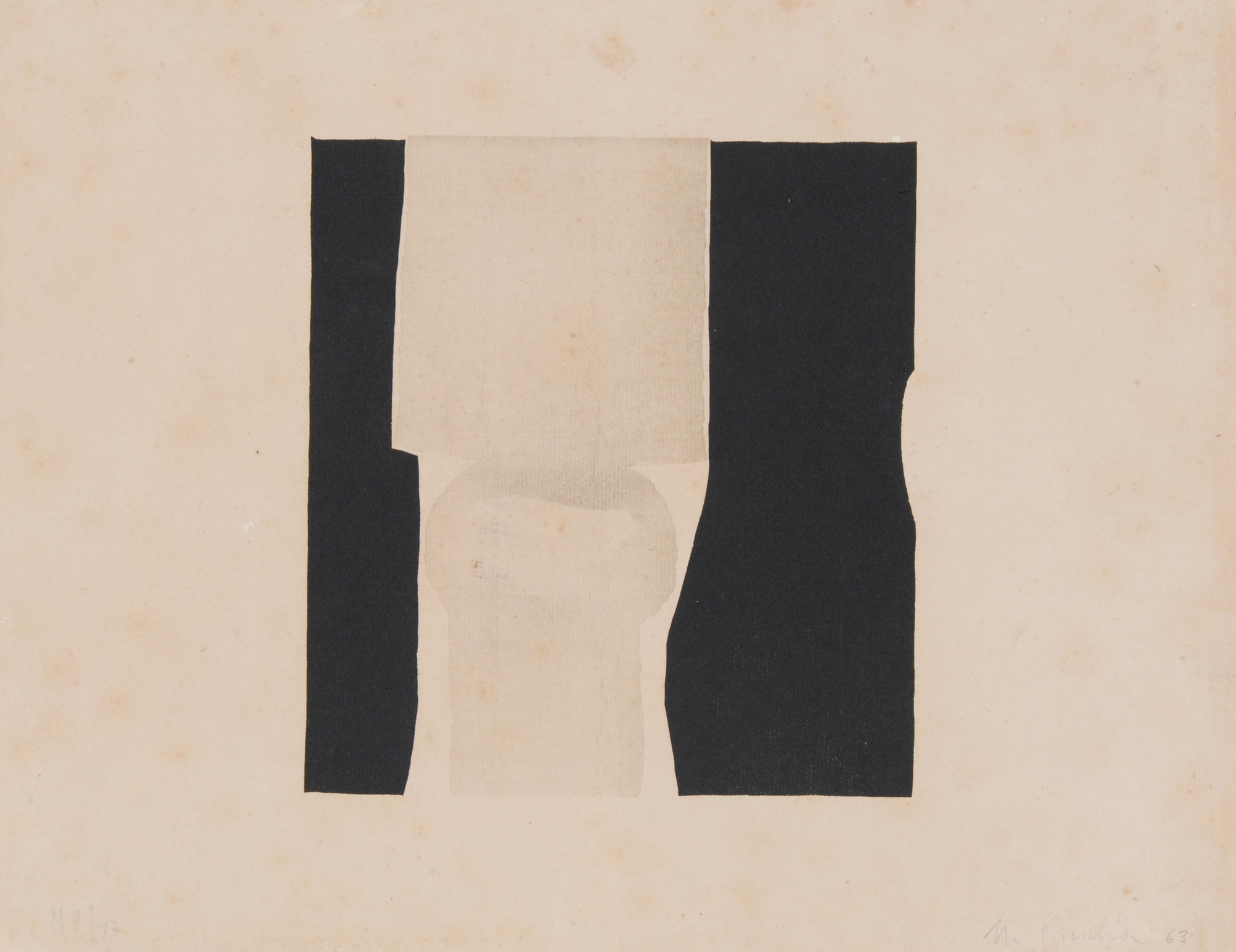 Spescha Matias, 8 sheets: Linocut-Series, 1963/1-3; Untitled, 1972/1; Untitled, 1979/2 (4)