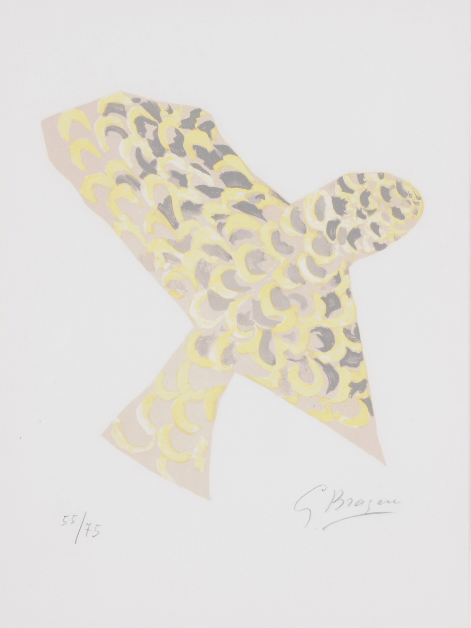 """Braque Georges, Le rapace, from """"Lettera amorosa"""""""