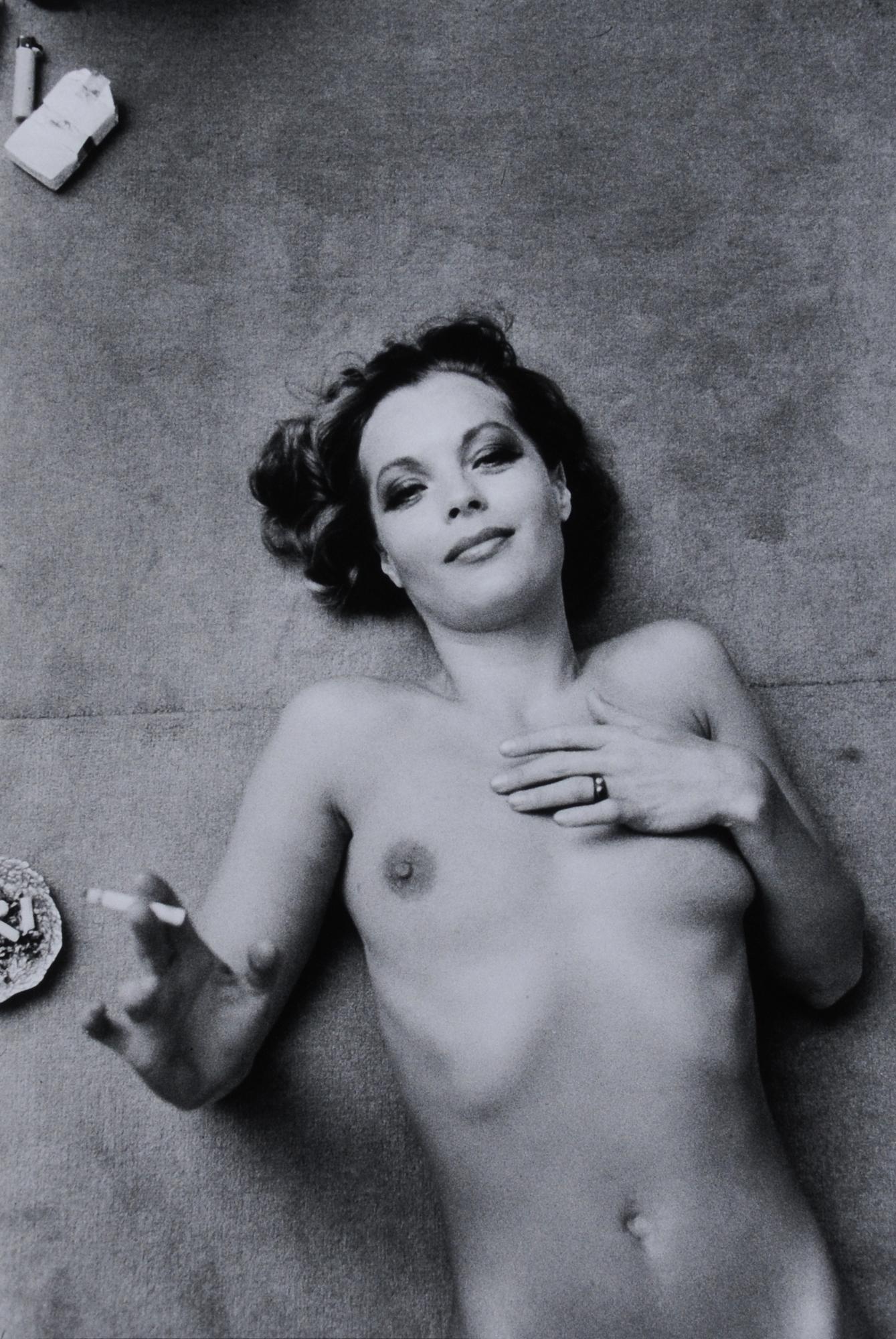 Botti Giancarlo, Romy Schneider, Paris 1974