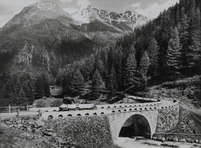 Flüelaroute: Süs im Unterengadin, Davos Partie oberhalb Süs, Piz Arpiglia