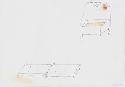 3 Zeichnungen: Ohne Titel