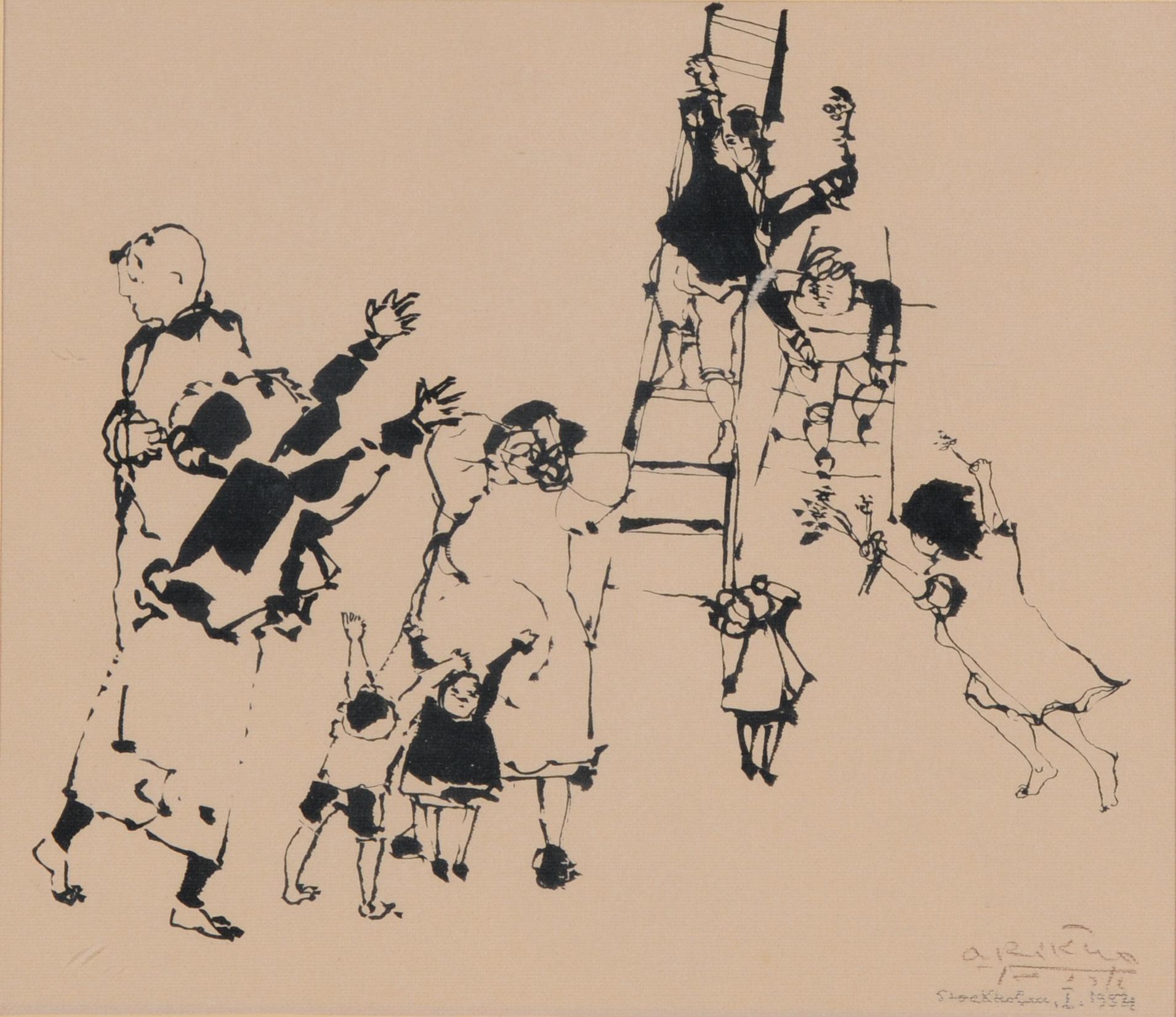 Arikha Avigdor, Untitled