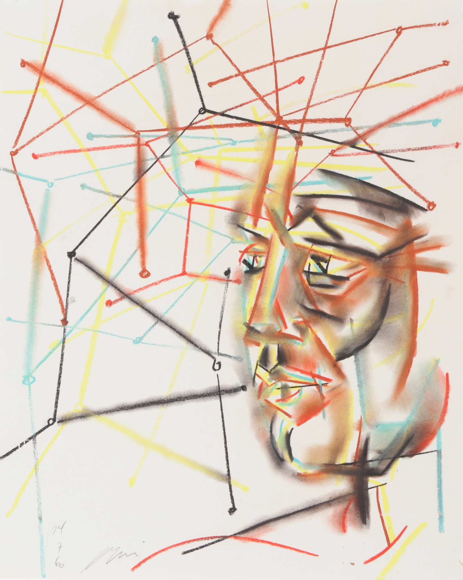 Erni Hans, Abstrakter Kopf (Abstract Head)
