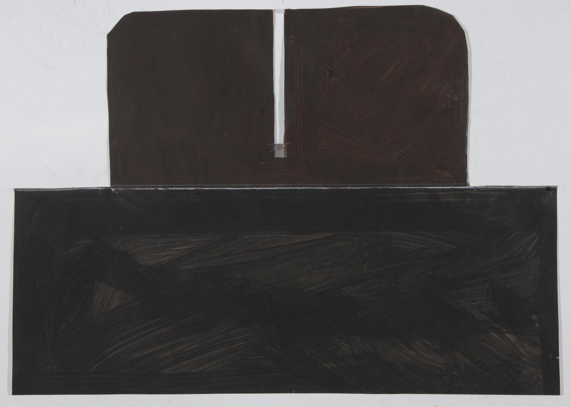Spescha Matias, Entwurf für Lithografie (Study for Lithograph)