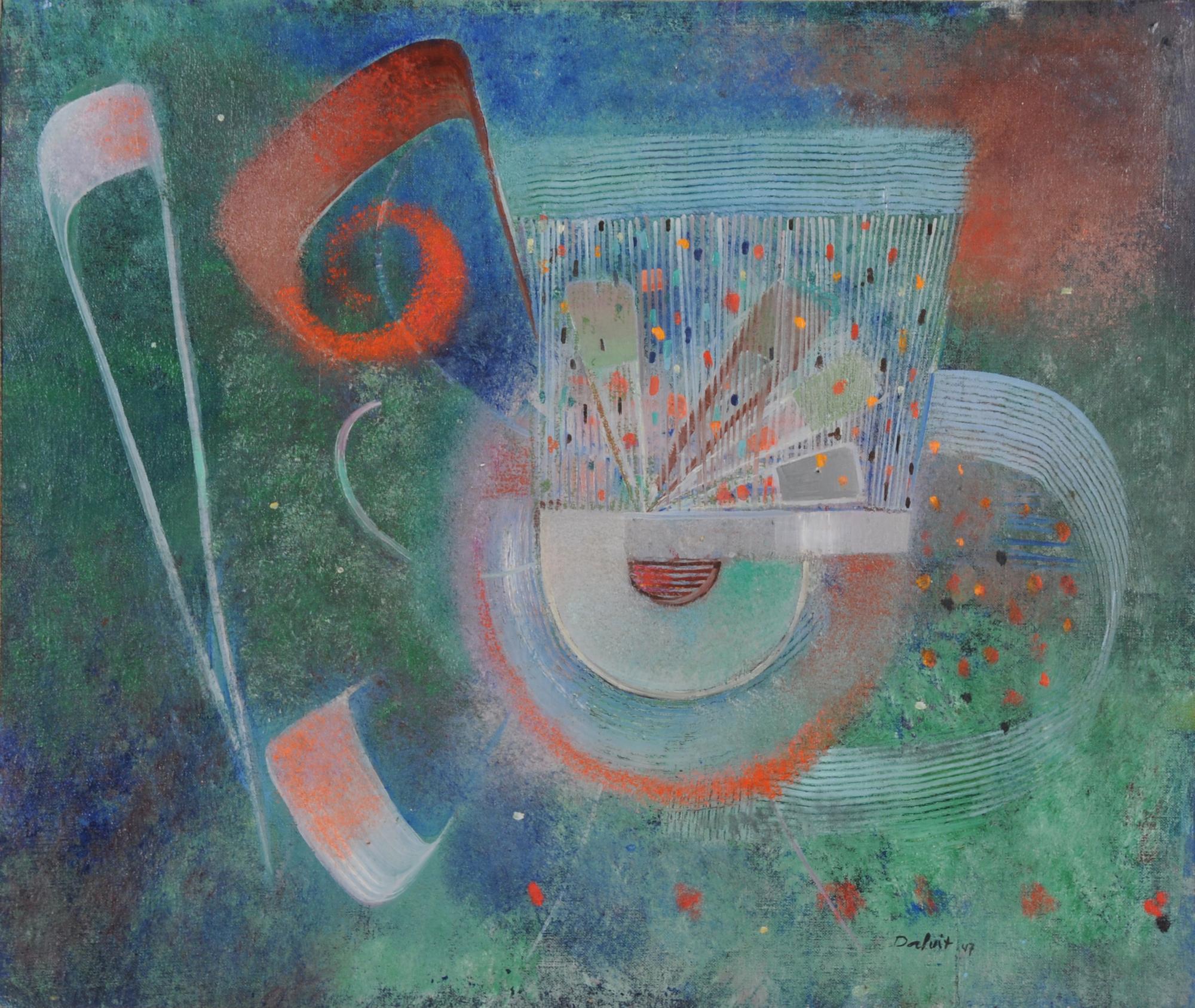Dalvit Oskar, Kleines Instrument (Spieldose)