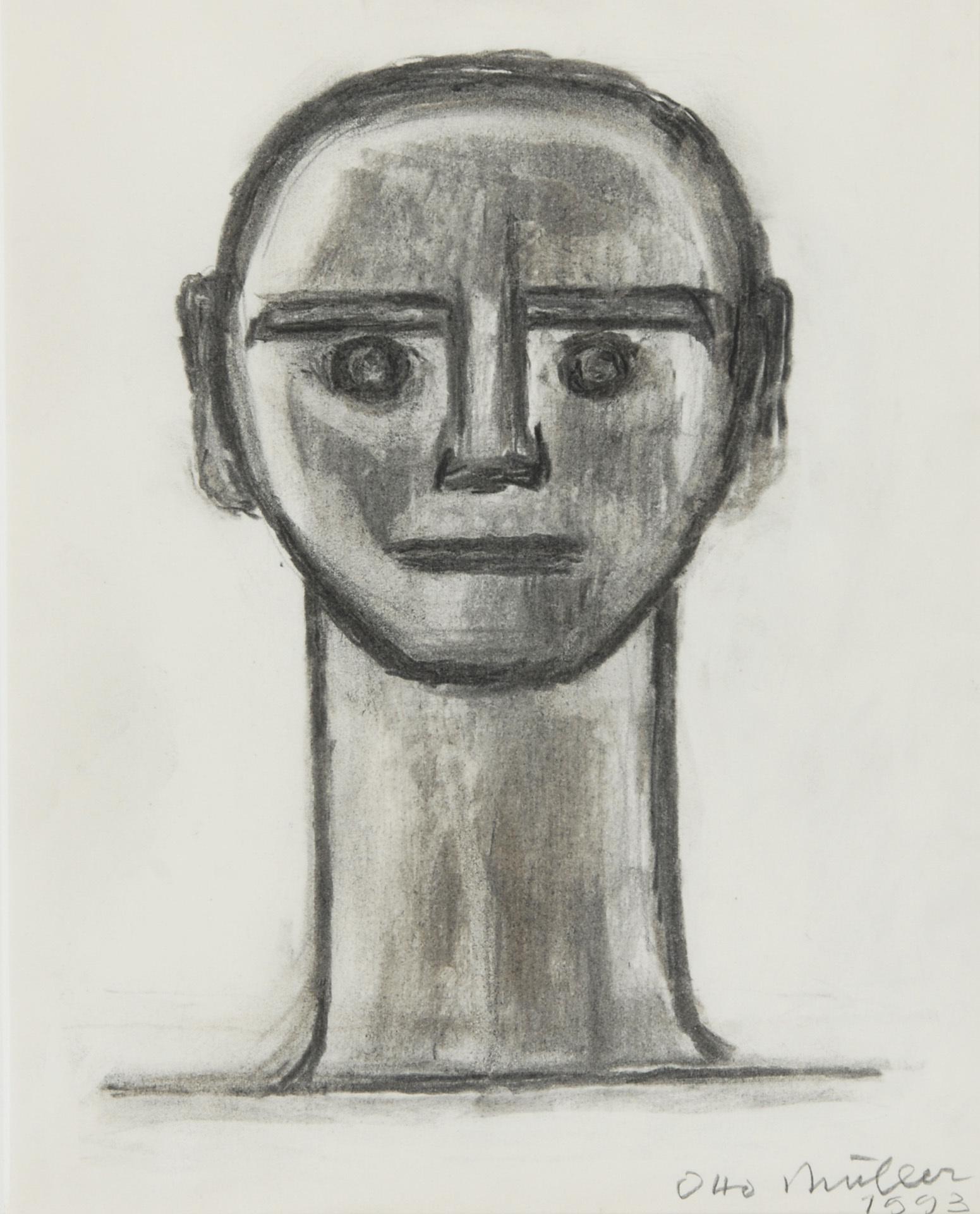 Müller Otto, Portrait