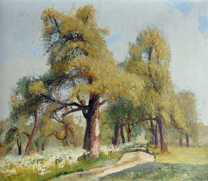 Pear Trees, 1920's