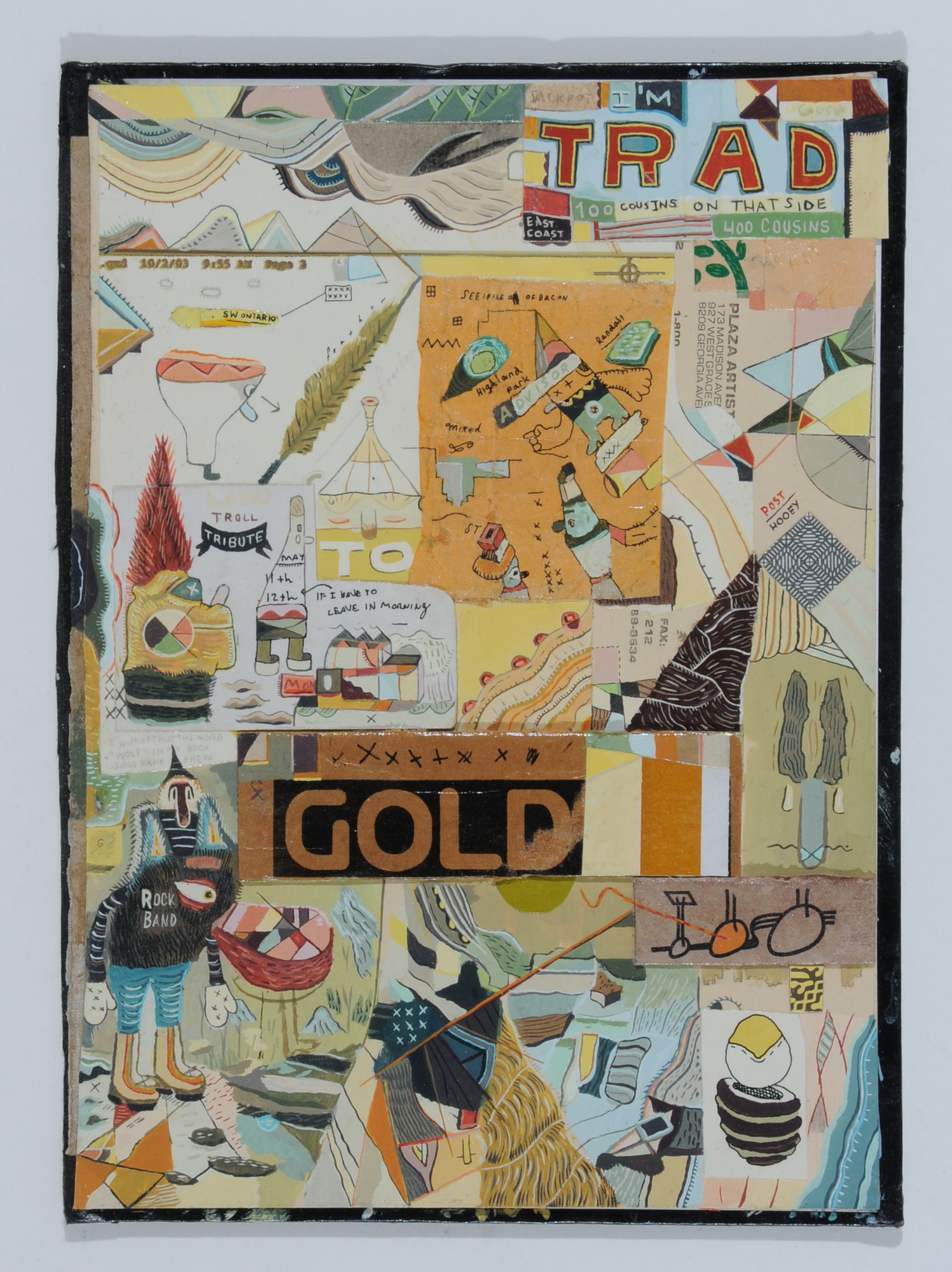 Marc Bell, Trad Gold