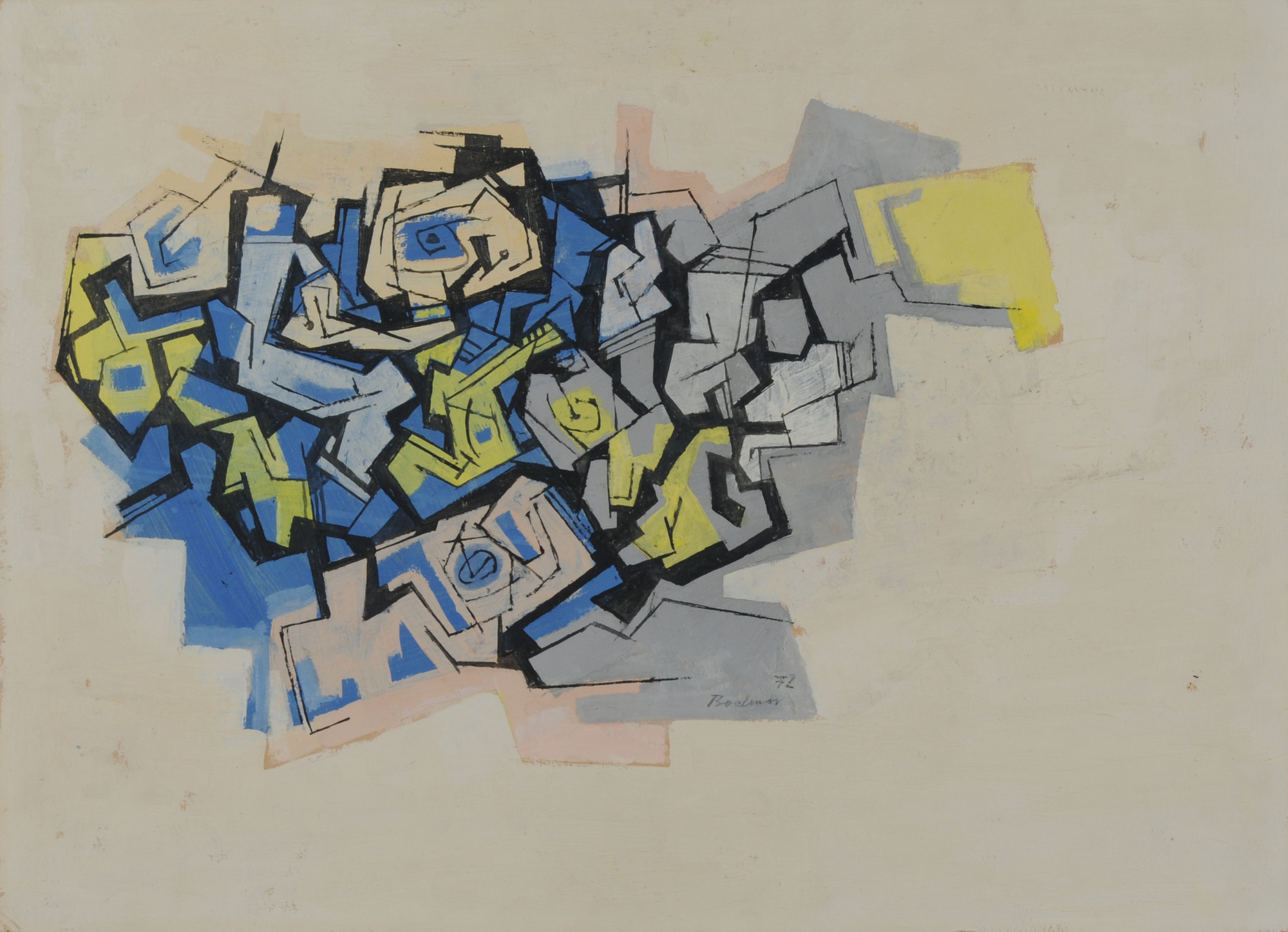Walter Bodmer, Untitled
