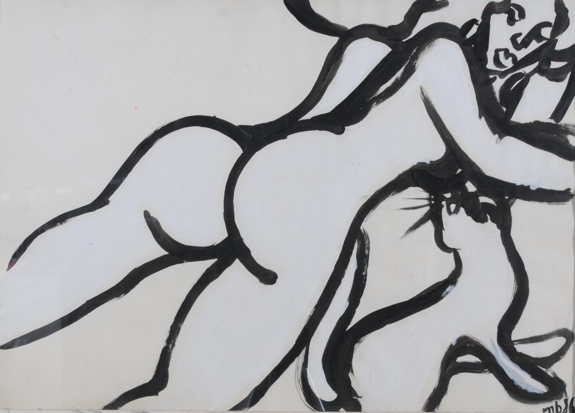Martin Bruggmann, Female Nude