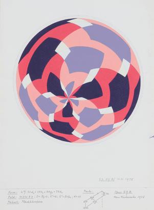 2 sheets: Untitled (Opus 59); Opus 59 B