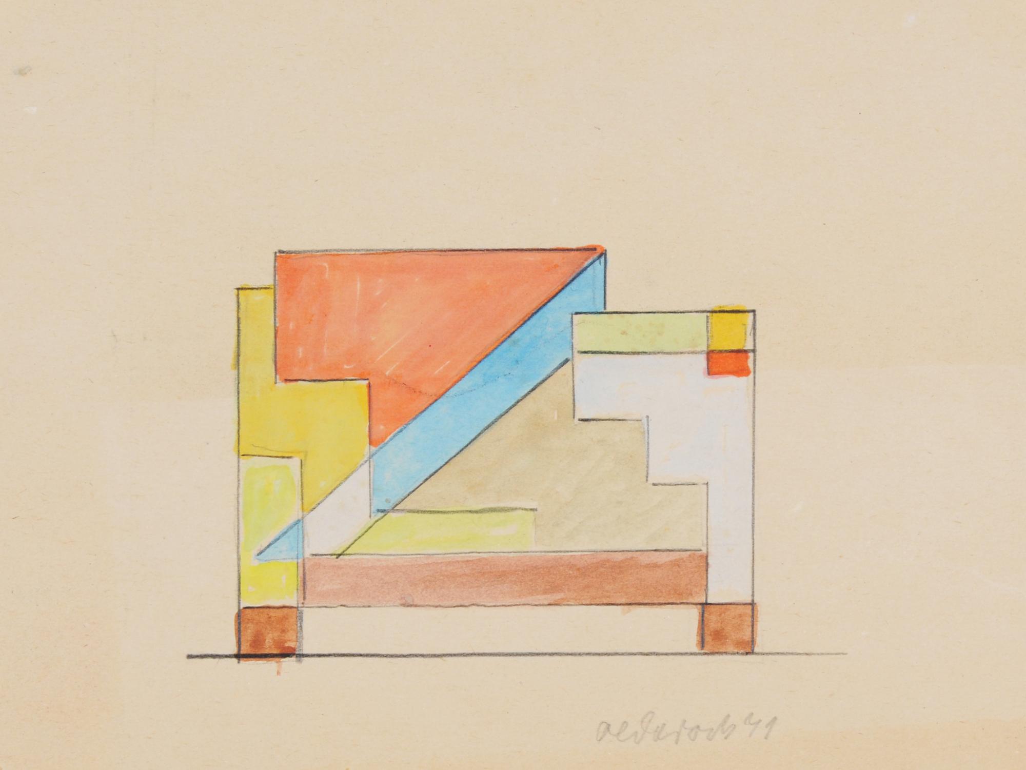 Max Olderock, Composition